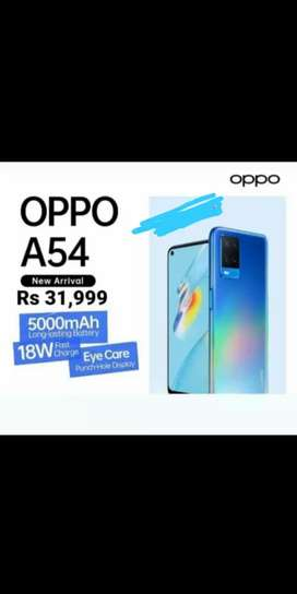 Oppo A54 new product recently launched.