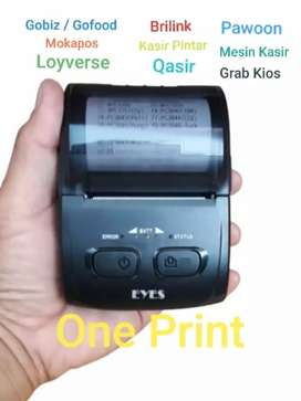 Mini Printer Bluetooth Android EYES H-200 Support Mokapos