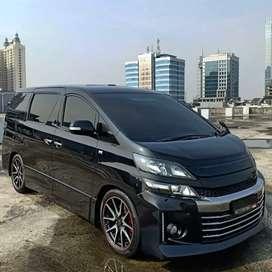 For Sale Toyota Vellfire GS 2.4L A/T Premium Sound Black On Black 2014