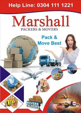 Marshall House Packers and Movers,  Cargo Shipping & Shifting  company
