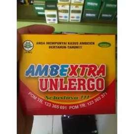 Ambextra Unlergo | Kapsul Herbal Ambeien | Wasir ( Izin POM )