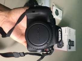 Kamera canon kiss X7 + lensa kit 18-55 is