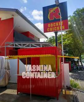 BOOTH SEMI CONTAINER, CONTAINER BOOTH, BOOTH MINUMAN, FOOD TRUCK