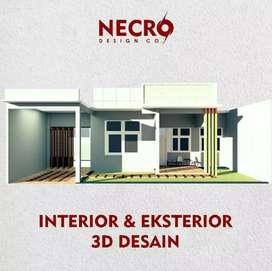 Jasa Interior & Eksterior Design