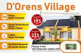 D'Oren village berlokasi di Citayam berbatesan langsung dengan Depok