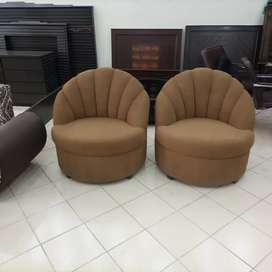 New brand bedroom chair pair