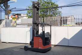 Linde R20 2 Ton Jerman Forklift Seated Reach Truck