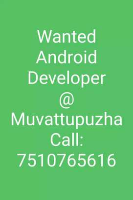 Wanted android developer