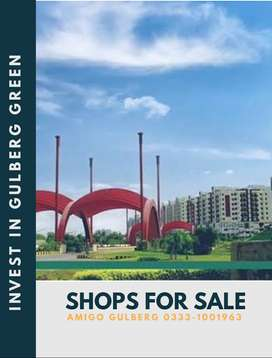 Shops for Sale in Gulberg Green - Best investment