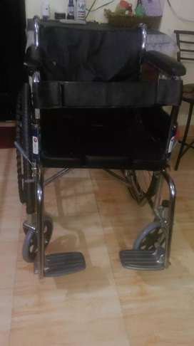 Wheel chair and bed