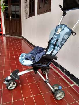 Stroller cocolate isport