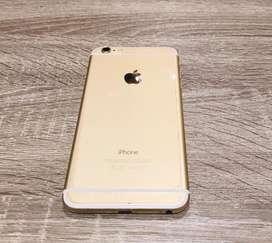 Iphone 6plus gold 64gb original