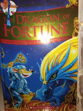 Geronimo Stilton The dragon of fortune an epic kingdom of fantasy