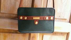 Cross body purse philipe chariol ori bahan kulit ga bs klupas