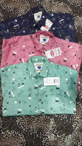 Cotton printed shirts