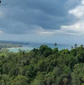 Tanah bukit view pantai