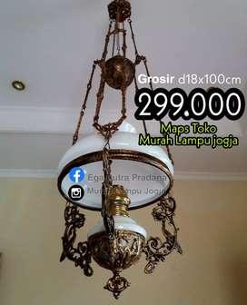 Grosir Lampu Hias Gantung Antik Klasik Katrol