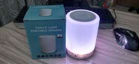 LED Lamp Bluetooth Speaker with Smart Touch