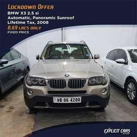 BMW X3 2011-2013 2.5si, 2008, Petrol