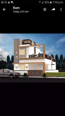 Villa for sale at Madukkarai