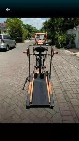 treadmill manual 5 fungsi excelen 415  ready juga elektrik