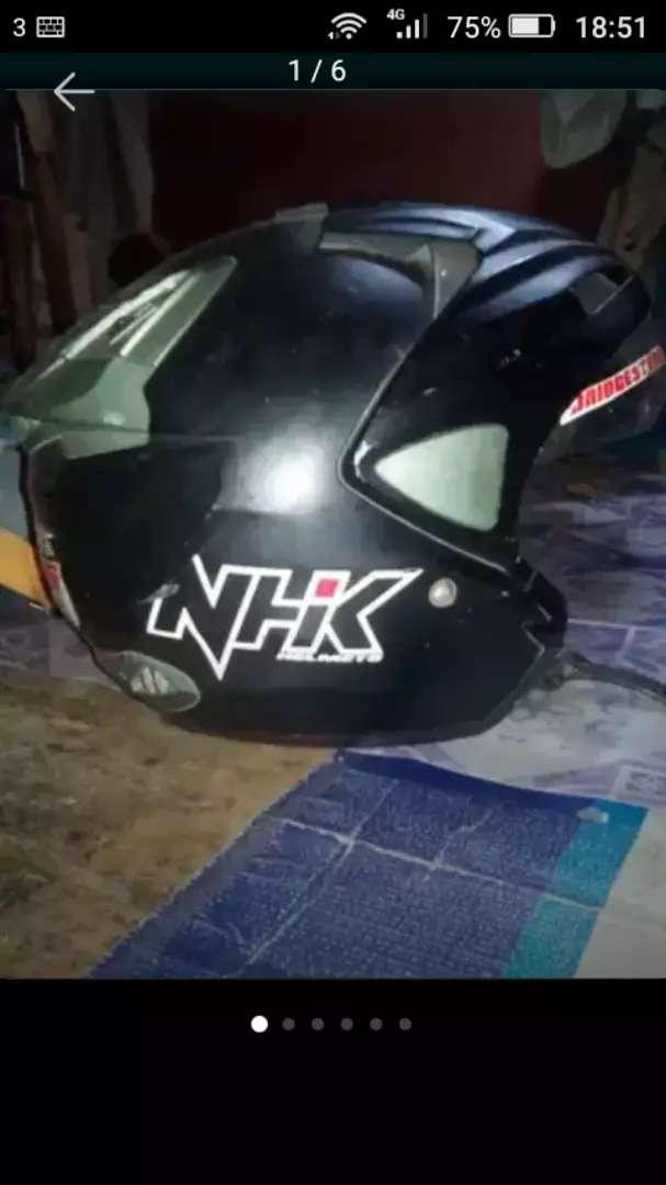 Helm NHK predator black 0
