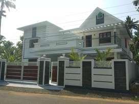 10 cent 5 bhk 4000 sqft new build ready to occupy laxuary  at aluva