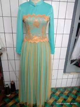 kebaya dress tosca