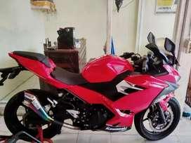 Bali dharma motor//jual Kawasaki ninja fi thn 2018