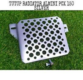 Tutup radiator pcx almini model sarang tawon barang baru