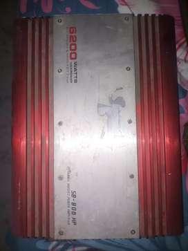 Amplifier sound barrier