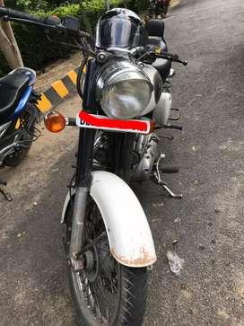 Classic 350 2014 ash white single user good condition