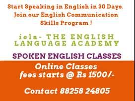 Spoken English Classes - Online