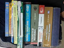 Set of 12 books for mechanical engineering