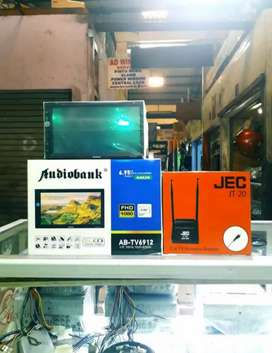 Plus pasang + audio Tv Audiobank Mirrorlink + Antenna Tv Bosster BARU