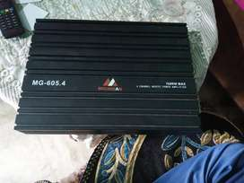 Michigan 4 channel amplifier
