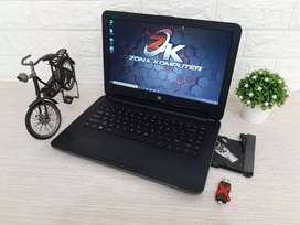 Zona Computer wts Laptop Hp 240 GS core i3  ram 4 gb siap pakai!