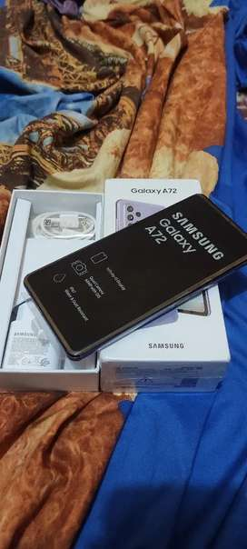 Samsung A72 8/128 likenew fullset original