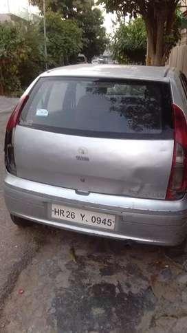 Metallic grey car