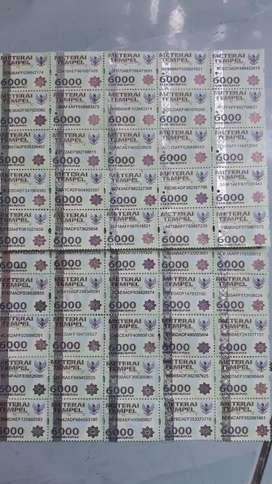 Jual Materai 6000