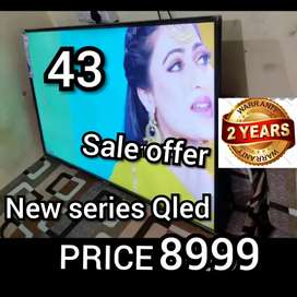 Hurry BRAND NEW SMART 43 INCH LED TV FULL HD QLED WITH 2 YEAR WARRANTY