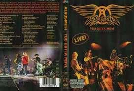 """AEROSMITH """"YOU GOTTA MOVE"""" LIVE ORIGINAL DVD + CD"""