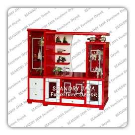 SEANDRY JAYA Furniture Depok/bufet rak tv minimalis/lemari/murah promo