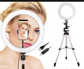 Free Delivery Tripod Stant 3110 With Selfie RingLight 26cm for Tiktok