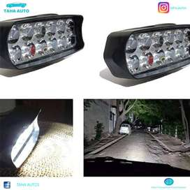 Super Bright 12 LED Light Bar For Car Bumpers, Jeeps & Bikes Universal