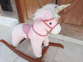 Ayunan Anak model Kuda Kudaan Unicorn