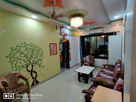 1.5 BHK fully furnished flat near dombivli station