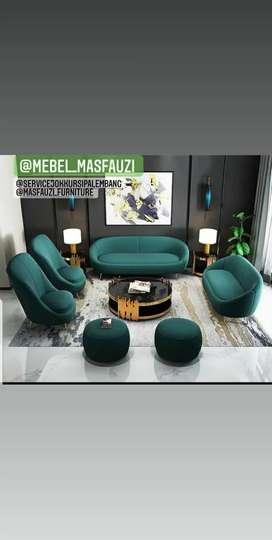 Pembuatan sofa candanavian dan sofa retro free ongkir