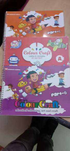 Children art and craft books