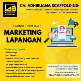 loker marketing scaffolding